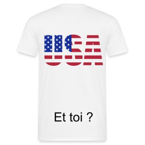 Je suis - USA - T-shirt Homme