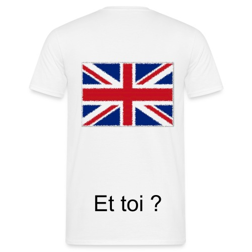 Je suis - Angleterre - T-shirt Homme