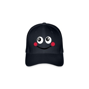 Smiley joues rouges - Casquette Flexfit