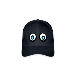 Smiley yeux louchent - Flexfit Baseballkappe