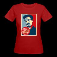 T-Shirts ~ Frauen Bio-T-Shirt ~ Schutz in Deutschland für EDWARD SNOWDEN