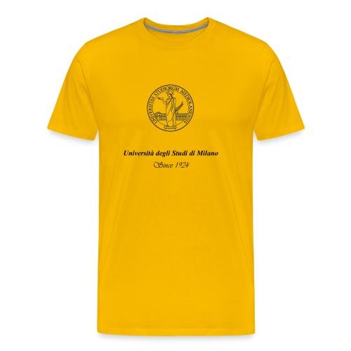 Maglietta Universita' degli studi di Milano, colorata - Maglietta Premium da uomo