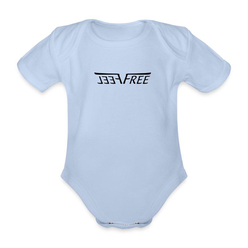 ff_logo - Baby Bio-Kurzarm-Body