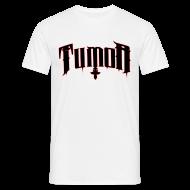 T-Shirts ~ Männer T-Shirt ~ Tumor T-Shyrt (Logo 1 Rot-Schwarz)