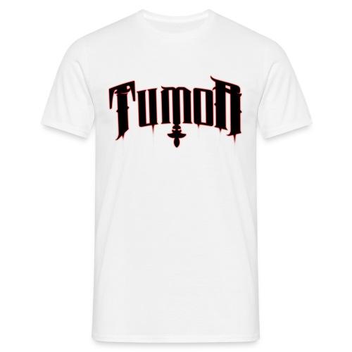Tumor T-Shyrt (Logo 1 Rot-Schwarz)  - Männer T-Shirt