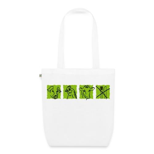 Tasche ich esse keine Tiere - Bio-Stoffbeutel