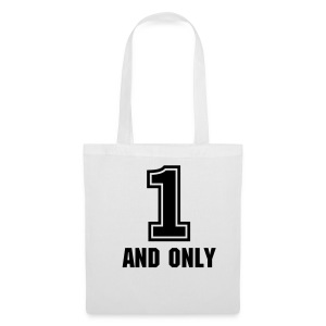 1 and only black - Tote Bag