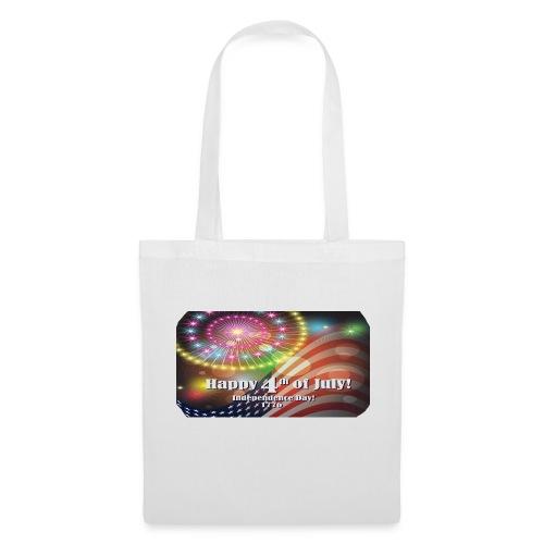 SAC TISSU HAPPY 4  JUILLET - Tote Bag