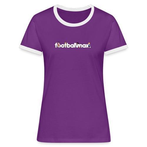 Footballmax Lady Violet - Women's Ringer T-Shirt