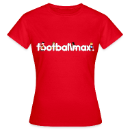 T-Shirts ~ Women's T-Shirt ~ Footballmax T-Shirt Woman