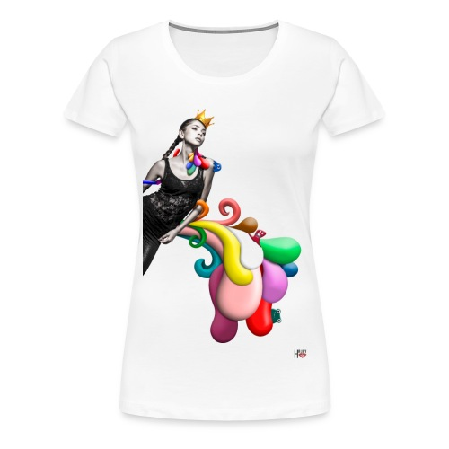 color - Frauen Premium T-Shirt
