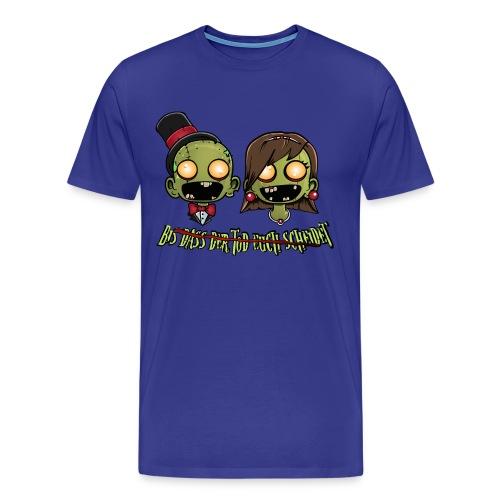 Zombie Wedding - Bis dass der Tod euch scheidet - Männer Premium T-Shirt