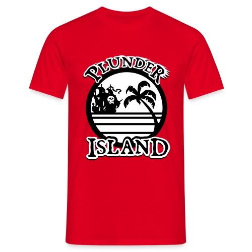 Plunder Island - Männer T-Shirt