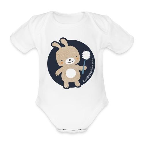 Klo-Hase - Baby Bio-Kurzarm-Body