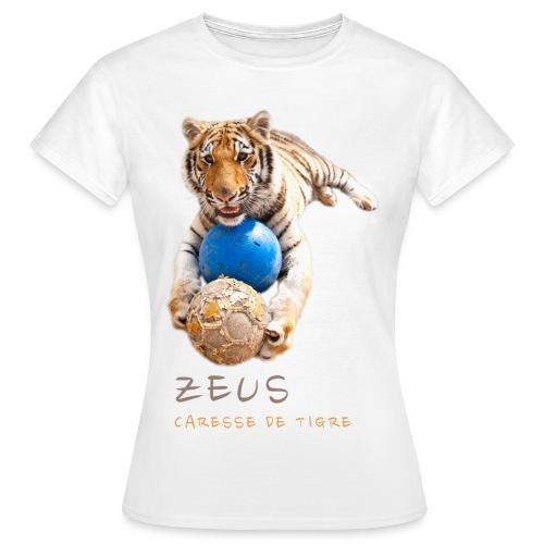 T-Shirt Femme Zeus ballons - T-shirt Femme