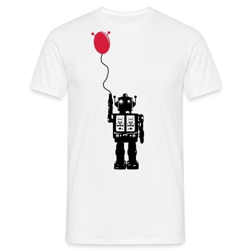 Roboballon - Männer T-Shirt