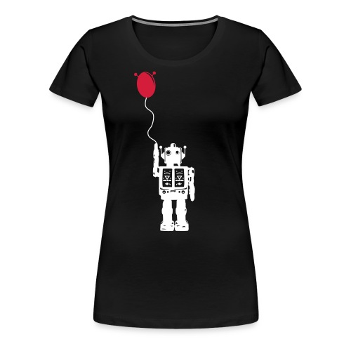 Roboballon - schwarz - Frauen Premium T-Shirt