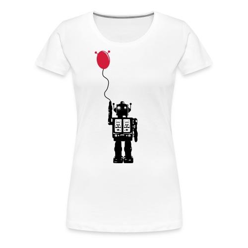 Roboballon - Frauen Premium T-Shirt