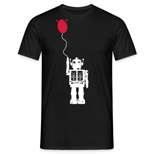 Roboballon - schwarz - Männer T-Shirt