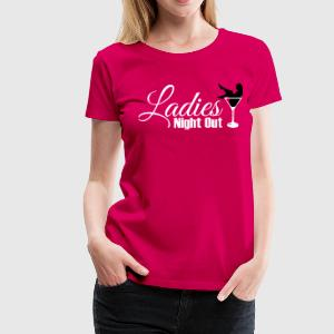 ladies night out Camisetas - Camiseta premium mujer