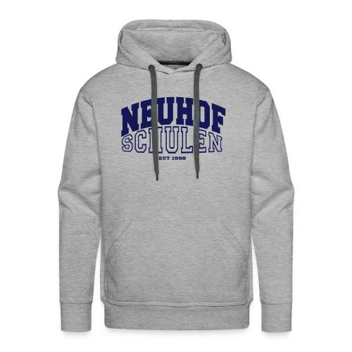 neuhof Kapuzenpullover Navy - Männer Premium Hoodie