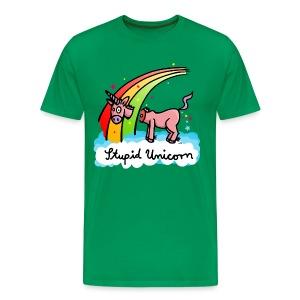 Supid Unicorn - Men's Premium T-Shirt