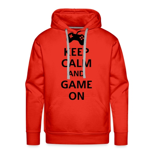 Keep calm and GAME ON - Männer Premium Hoodie