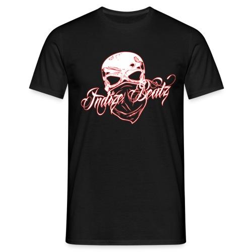 Indize Beatz (666 Entertainment) LOGO 1 Roter Schein - Männer T-Shirt