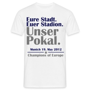 Unser Pokal - Men's T-Shirt