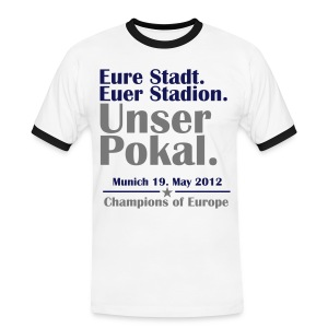 Unser Pokal - Men's Ringer Shirt