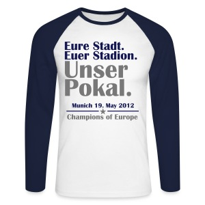 Unser Pokal - Men's Long Sleeve Baseball T-Shirt