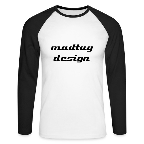 MadTag Design Raglan LS - Men's Long Sleeve Baseball T-Shirt