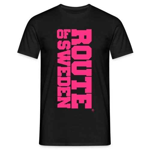 Big Text (Pink) - T-shirt herr