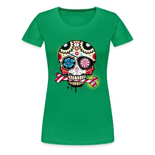 T-shirt Crâne en bonbons - T-shirt Premium Femme