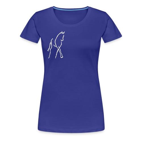 Dressur Frauen T-Shirt - Frauen Premium T-Shirt