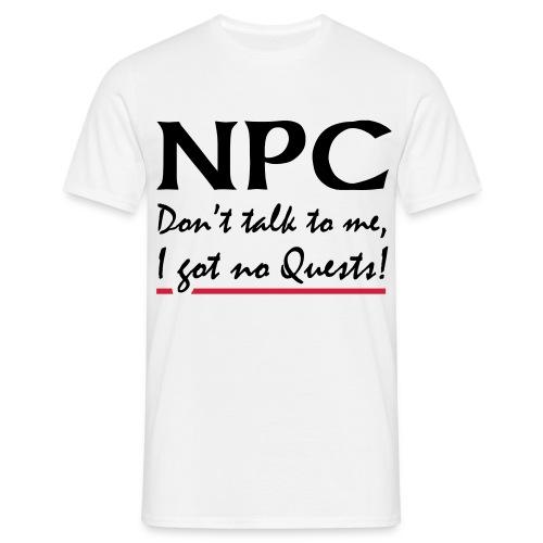 NPC Shirt - Männer T-Shirt