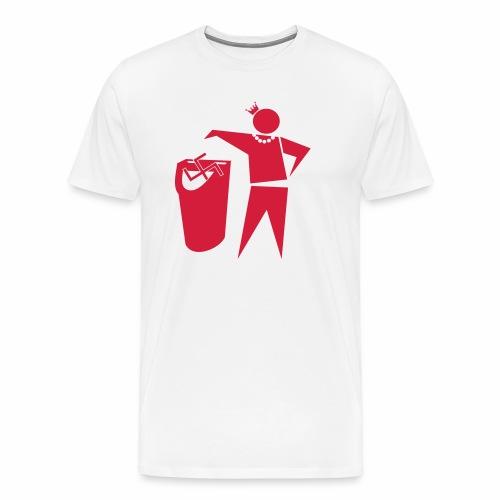 Pride Shop - Tunte gegen Rechts - Männer Premium T-Shirt