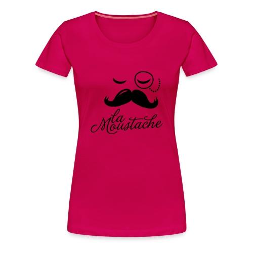 La moustache - T-shirt Premium Femme