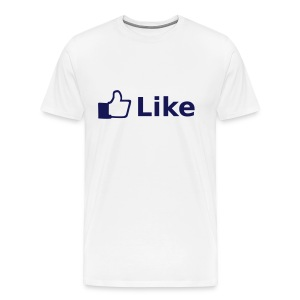 Like - Facebook - T-shirt Premium Homme