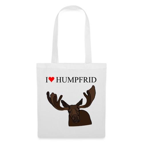 I love Humpfrid - Tygväska