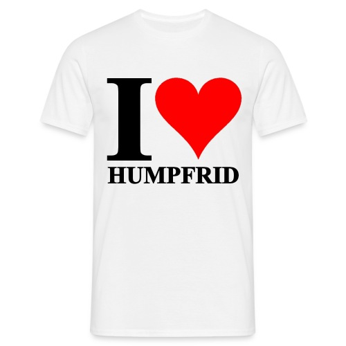 I love Humpfrid - T-shirt herr