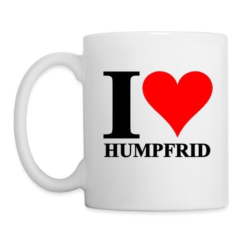 I love Humpfrid - Mugg