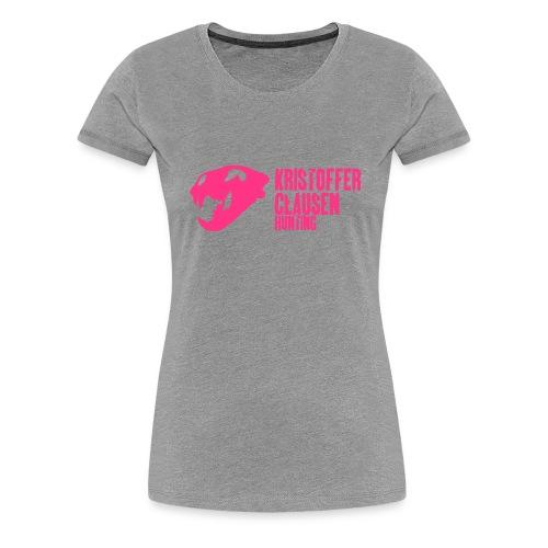Klassisk T-skjorte kvinner - Premium T-skjorte for kvinner
