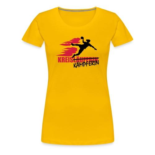 Kreiskämpferin - Frauen Premium T-Shirt