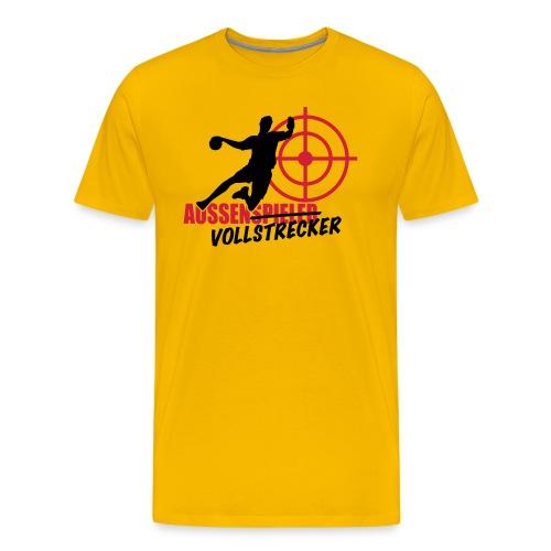Außenvollstrecker schwarz rot - Männer Premium T-Shirt