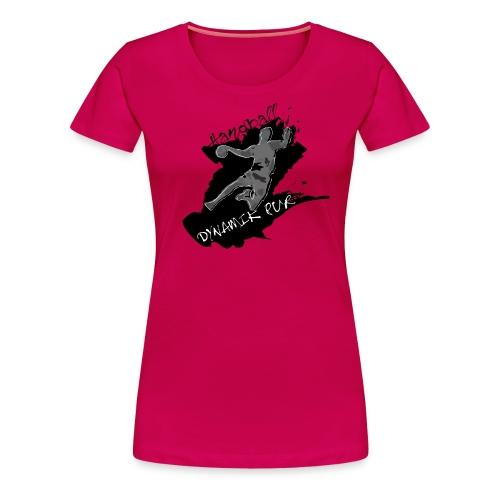 Dynamik pur schwarz_W - Frauen Premium T-Shirt