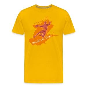 Dyamik pur orange_M - Männer Premium T-Shirt