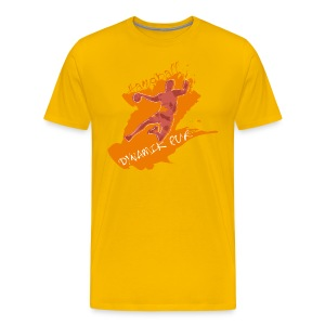 Dyamik pur orange_M - Männer Premium T-Shirt