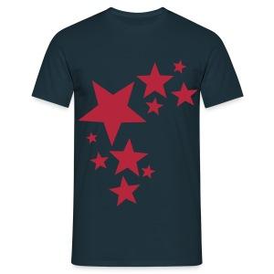 toam stars (dark red) Digital-direct printing - Men's T-Shirt