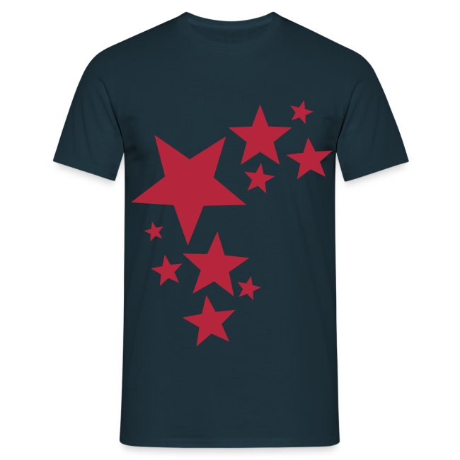 toam stars (dark red) Digital-direct printing